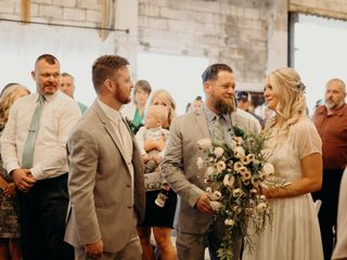 The wedding of Logan and Auston 2