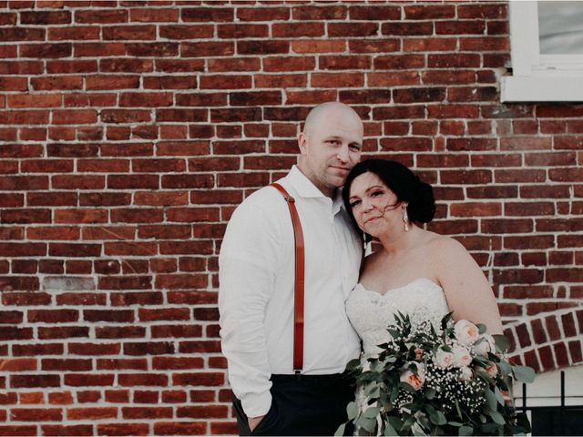 The wedding of Rebecca and Zachary