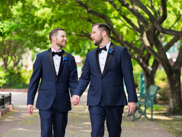 The wedding of Rory and Scott