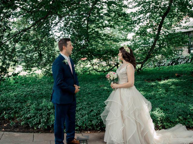 The wedding of Annamaria and Josh