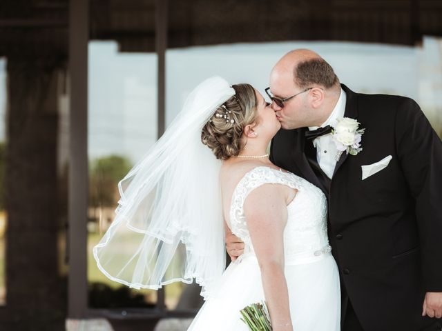 The wedding of Kristie and Mike