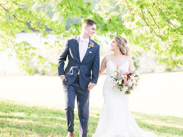 The wedding of Skye  and Campbell