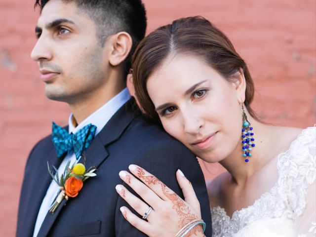 The wedding of Sayeed and Jessica