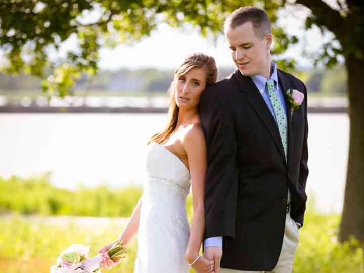 The wedding of TJ and Lindsay