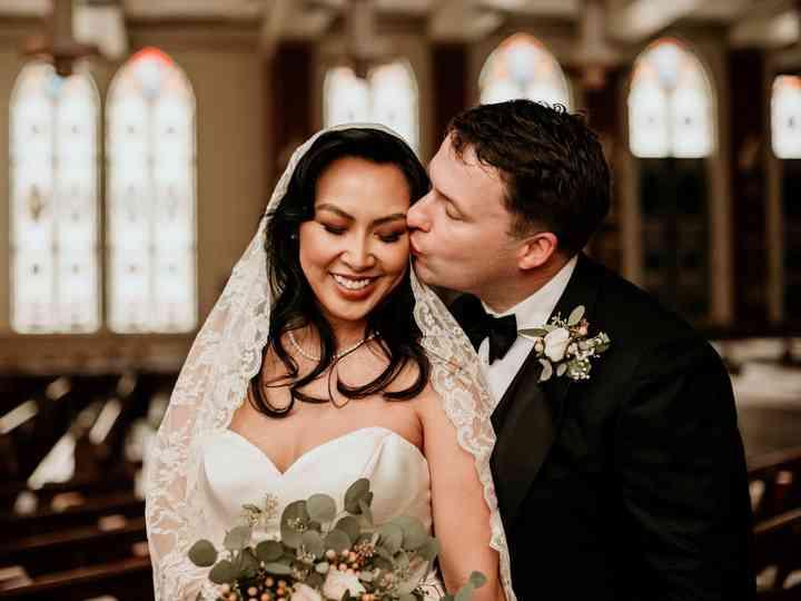 The wedding of Lisa and Matt