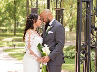 The wedding of Jordan and Theron