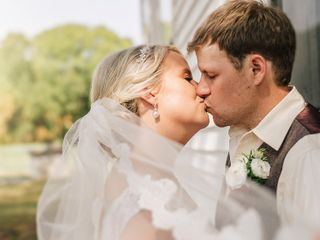 The wedding of Casey Hardison and Travis major