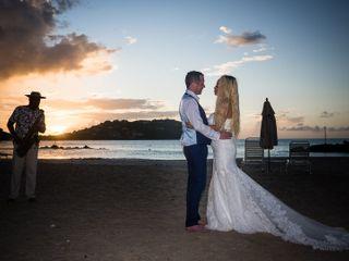 The wedding of Jolene and Alain 1