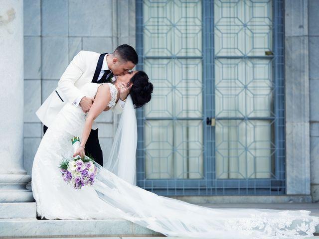The wedding of Marissa and Jonathan
