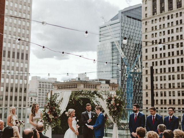 Andrew Minnotte  and Claudette Minnotte (formerly Dagorn)'s Wedding in Pittsburgh, Pennsylvania 12