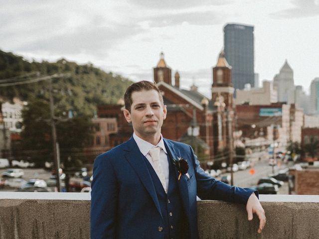 Andrew Minnotte  and Claudette Minnotte (formerly Dagorn)'s Wedding in Pittsburgh, Pennsylvania 16