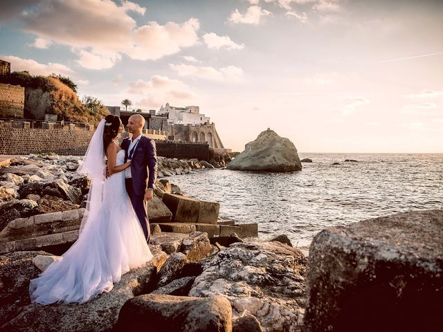 The wedding of Fabiele and Mikael