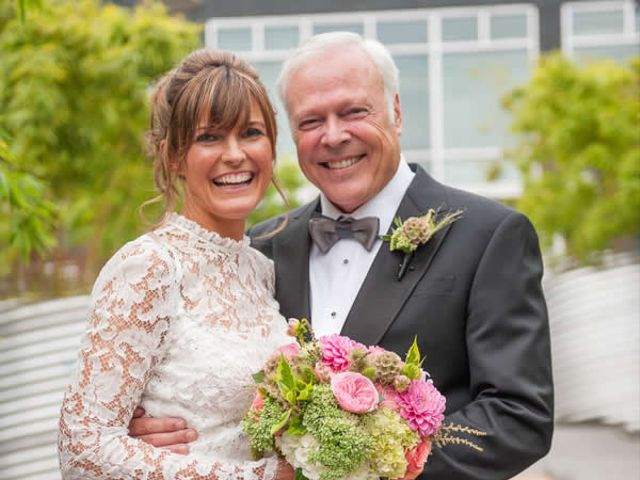 The wedding of Ron and Karen