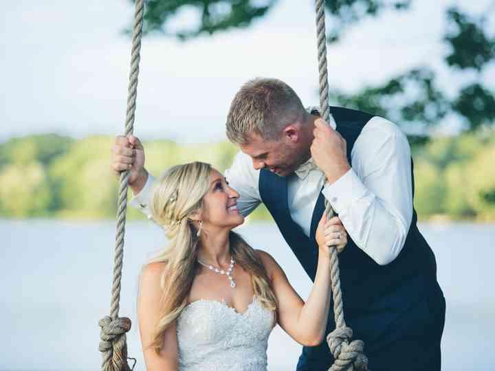The wedding of Bridget and Mark