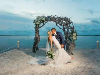 The wedding of Claudia and Aaron