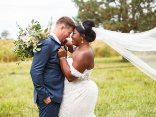 The wedding of Christyl and Ryan