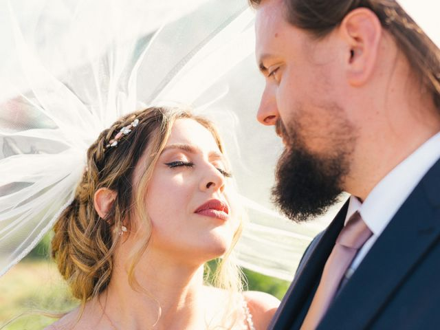 The wedding of Juliet and Casey