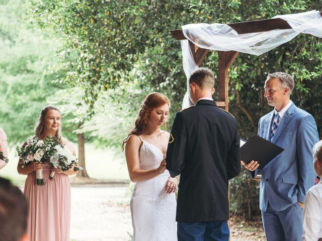 Aaron and Morgan's Wedding in Millbrook, Alabama 36