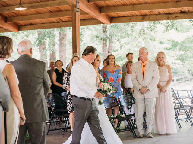 Aaron and Morgan's Wedding in Millbrook, Alabama 45