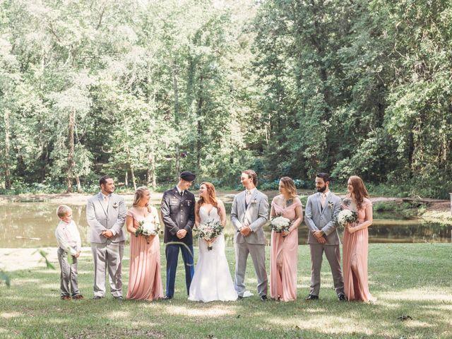 Aaron and Morgan's Wedding in Millbrook, Alabama 50