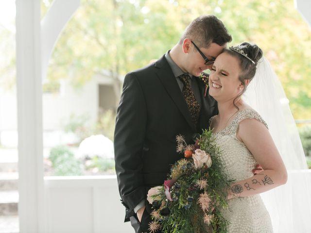 The wedding of Lauren and Trevor
