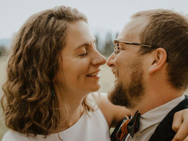 The wedding of Melinda and William