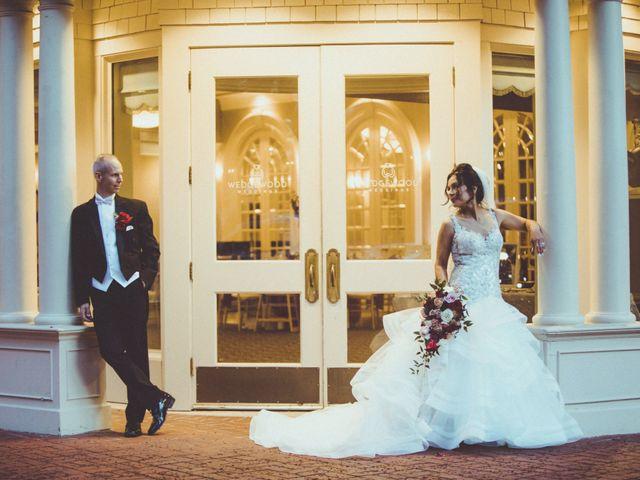 The wedding of Yolanda and Brian