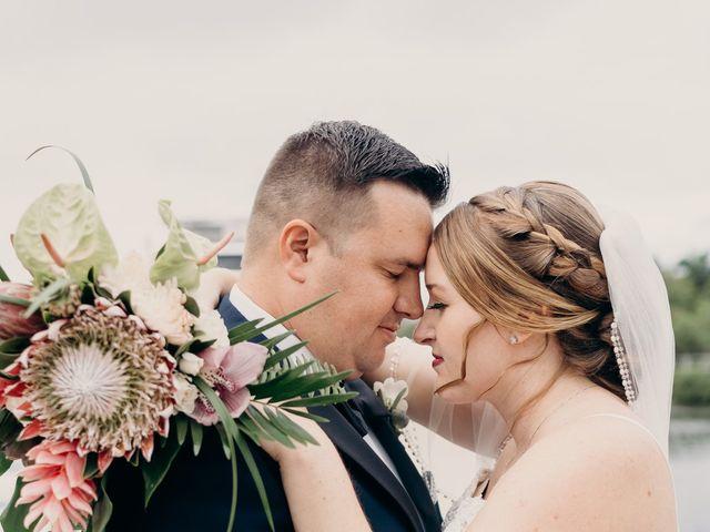 Brandon and Megan's Wedding in Jupiter, Florida 10