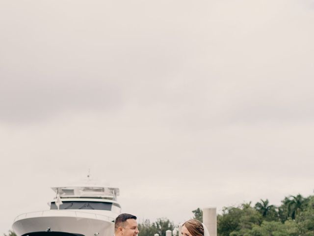 Brandon and Megan's Wedding in Jupiter, Florida 11