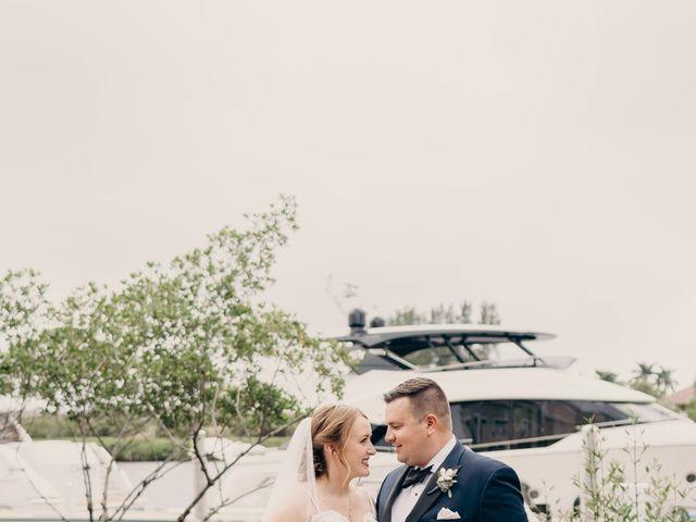 Brandon and Megan's Wedding in Jupiter, Florida 12