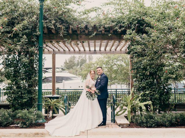 The wedding of Megan and Brandon