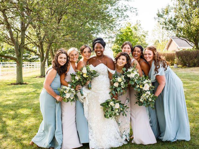 Ryan and Christyl's Wedding in Oswego, Illinois 16