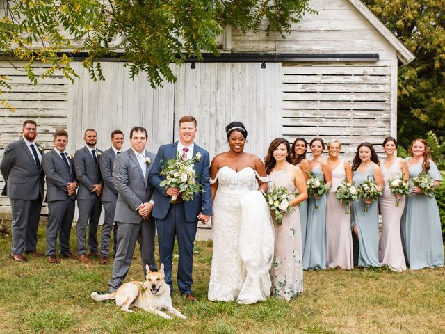 Ryan and Christyl's Wedding in Oswego, Illinois 42