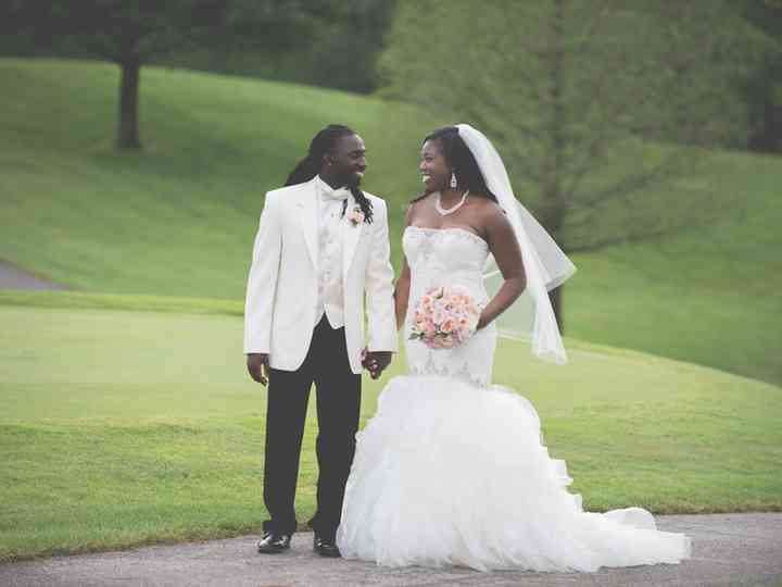 The wedding of Abdoul and Renee