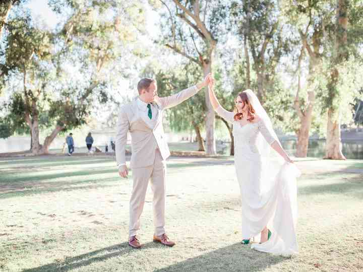 The wedding of Kayla and Rudy