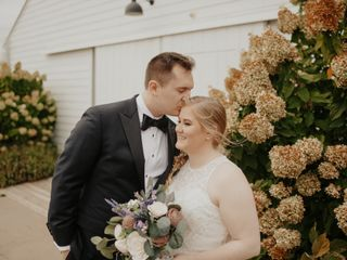 The wedding of Wilson and Courtney