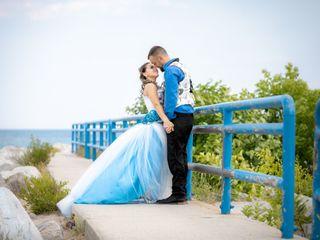 The wedding of Ashley and Ryan
