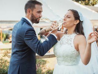 The wedding of Gerard and Amanda