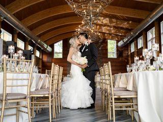 The wedding of Alexandra and Tom