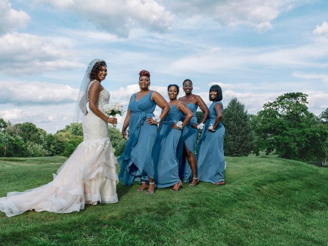 Chantal and Chad's Wedding in Blackwood, New Jersey 1