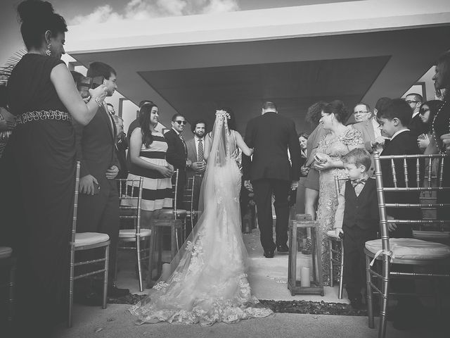 Zachary and Joelle's Wedding in Cancun, Mexico 17