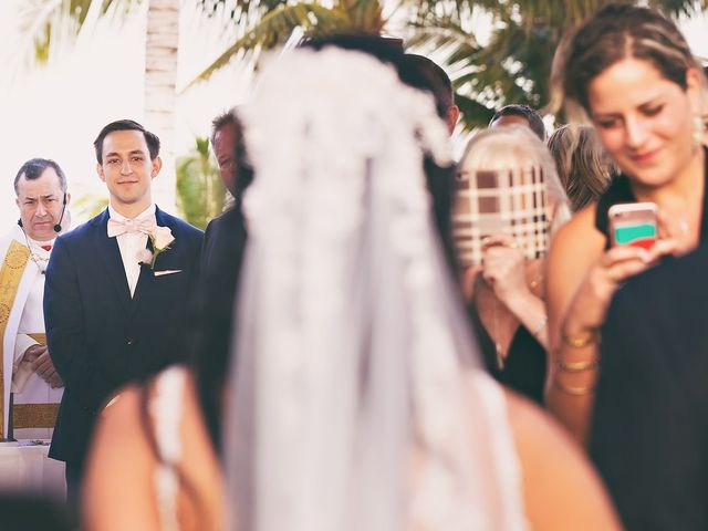 Zachary and Joelle's Wedding in Cancun, Mexico 18