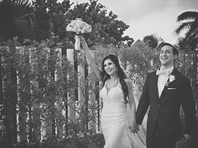 Zachary and Joelle's Wedding in Cancun, Mexico 27