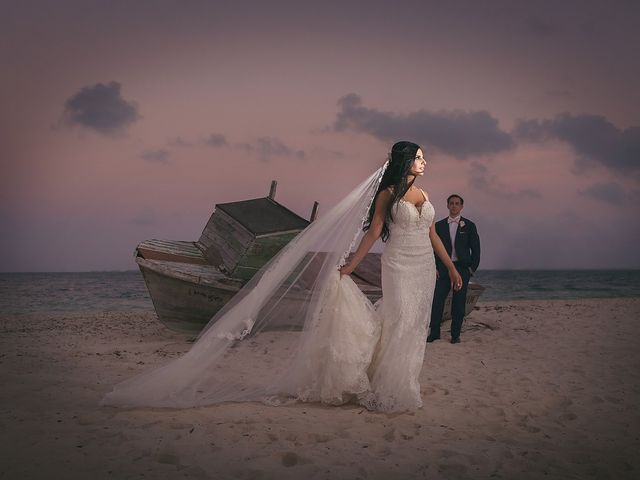 Zachary and Joelle's Wedding in Cancun, Mexico 31