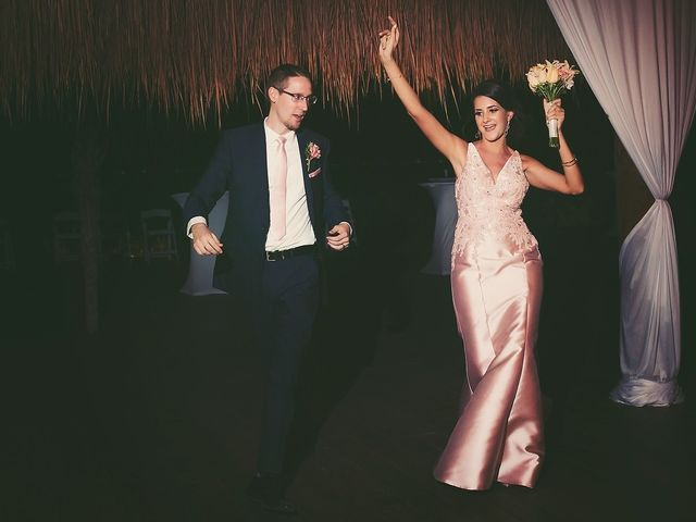 Zachary and Joelle's Wedding in Cancun, Mexico 40