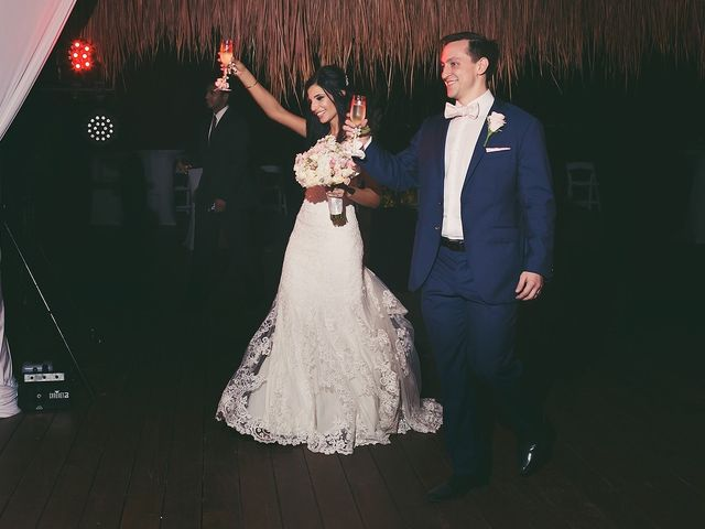Zachary and Joelle's Wedding in Cancun, Mexico 41