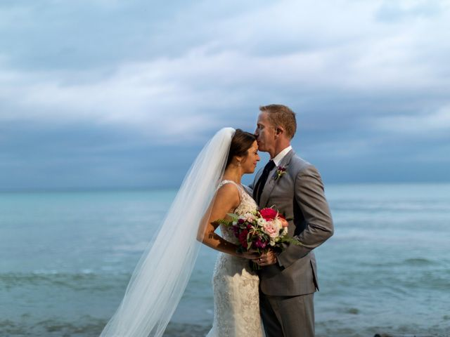 The wedding of Kevin and Danielle