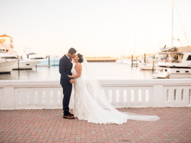 The wedding of Christina and Wesley