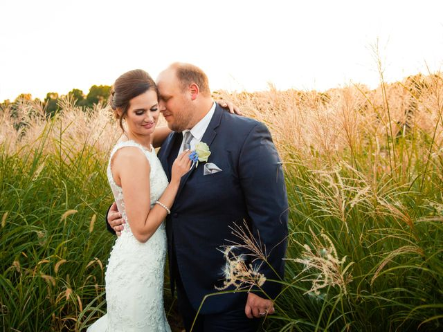 The wedding of Gray and Ann Marie