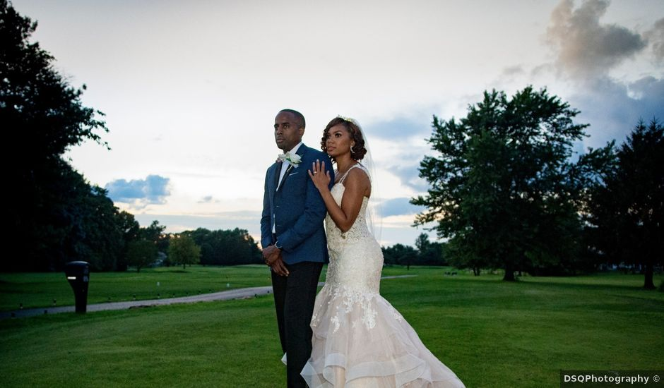 Chantal and Chad's Wedding in Blackwood, New Jersey